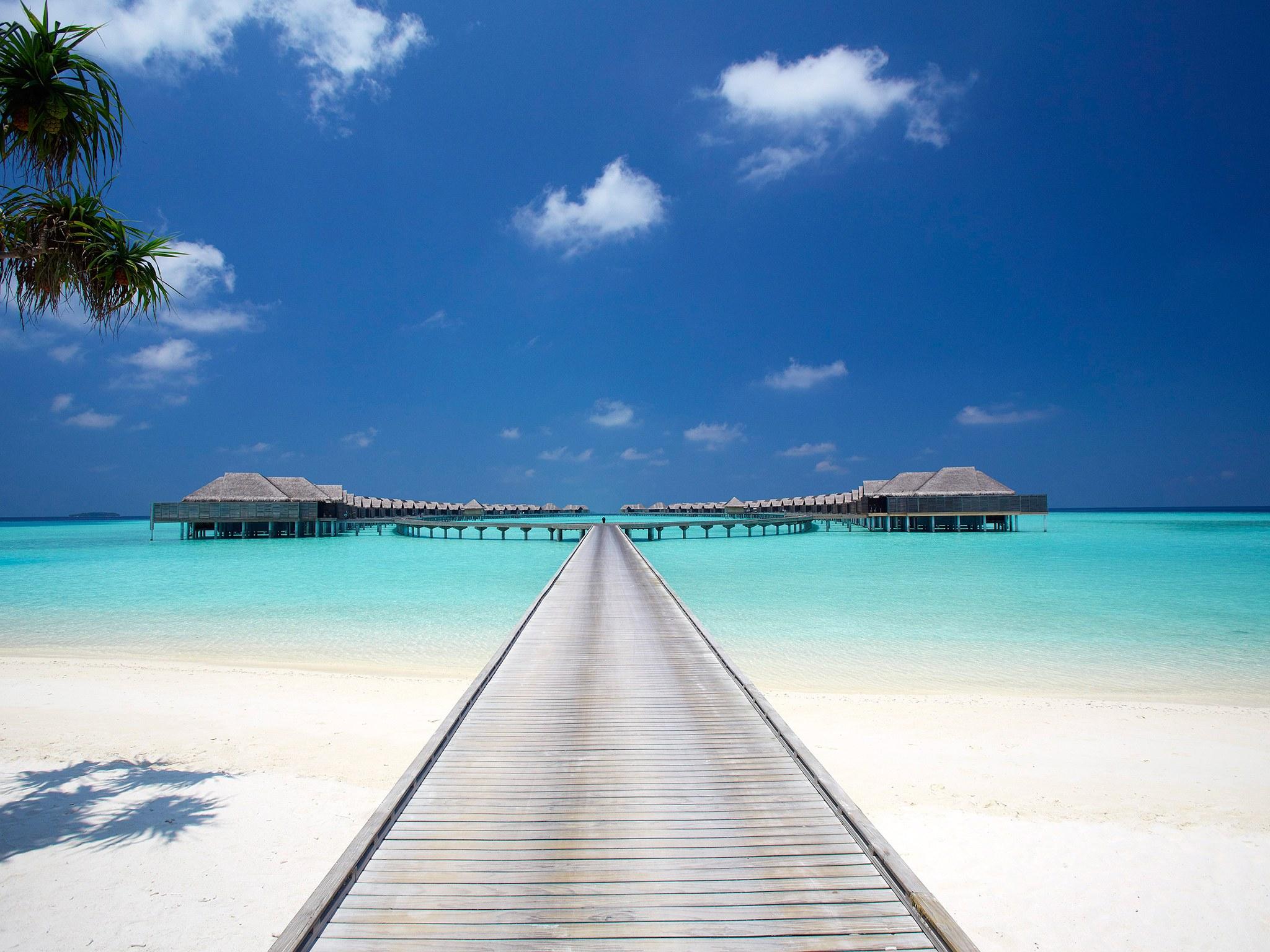 Maldives island holiday